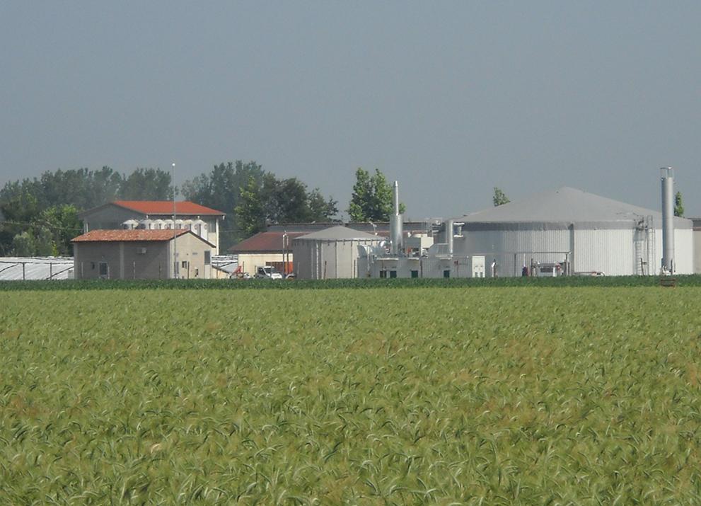 L'impianto a biogas a Pozzaglio ed Uniti