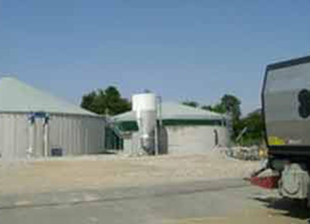 L'impianto a biogas a Sillavengo